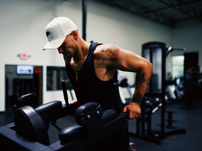 肌肉組織造成些微的損害