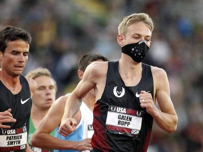 美國頂尖長跑運動員Galen Rupp