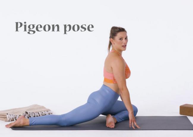 瑜伽鴿子式
