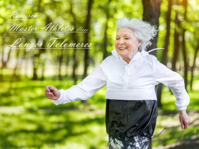多運動減緩DNA衰老
