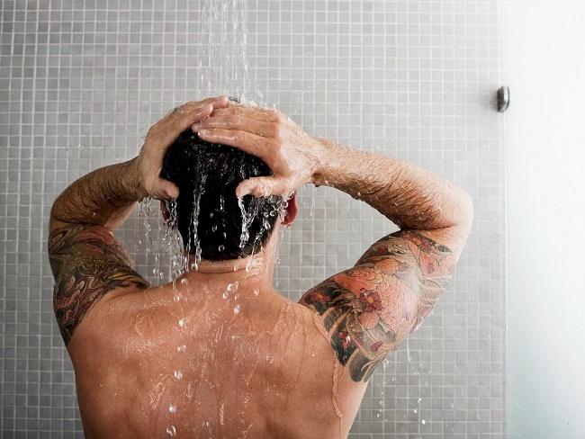 運動前後洗澡