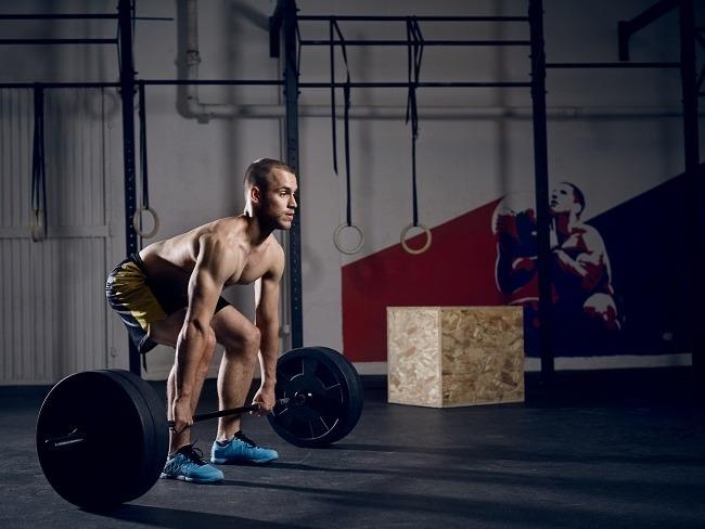 硬舉訓練動作