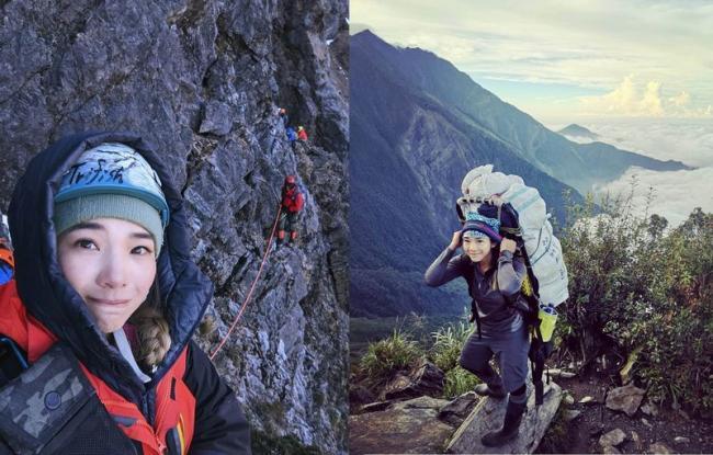 台灣第二位登頂聖母峰的女性登山家-詹喬愉