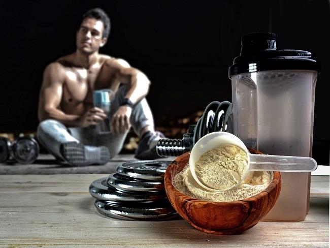 蛋白質攝取與增肌有關