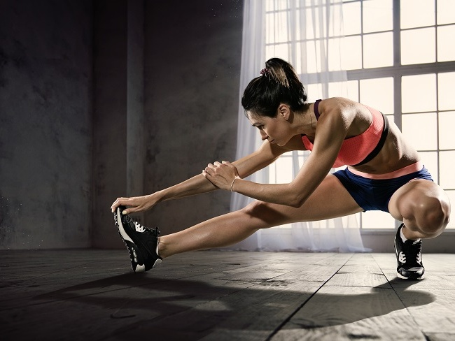 暖身保護身體肌肉