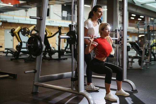 正確的訓練姿勢與重量