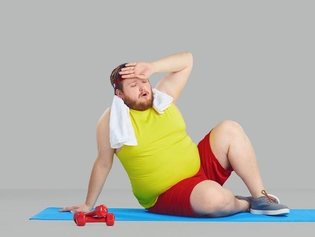 體重過重運動的效能會下降