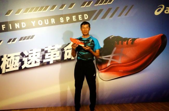 全國馬拉松紀錄保持人許績勝教練