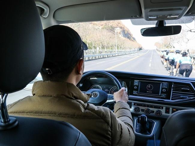 福斯商旅T6.1 Caravelle輕鬆的駕馭感受
