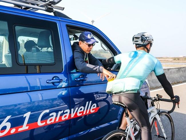 福斯T6.1 Caravelle補給更輕鬆