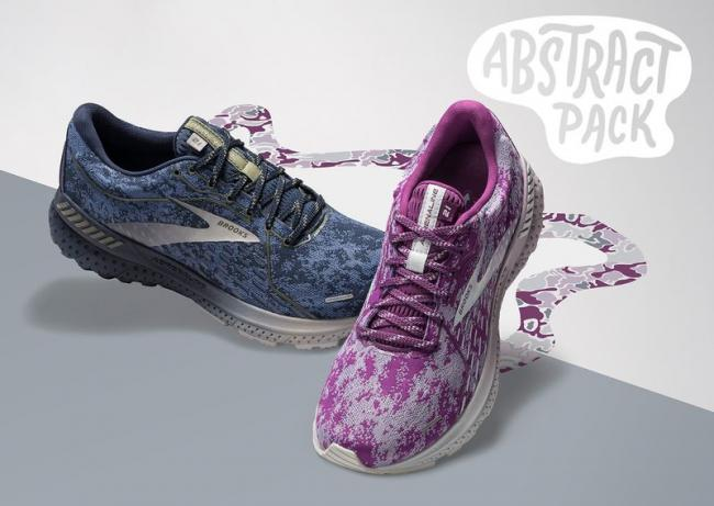 BROOKS ADRENALINE GTS 21抽象派限定款