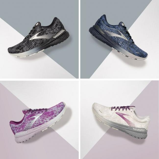 鞋款設計概念源自美國紐約的「抽象派表現主義藝術」
