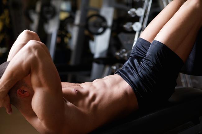 腹肌訓練動作