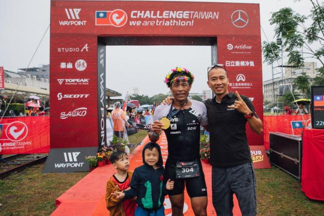 最強士官長王金晴於226公里項目奪冠