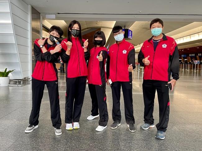 中華划船隊隨行物理治療師
