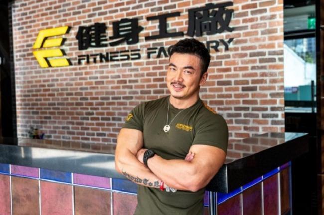 健身狂藝人李沛旭