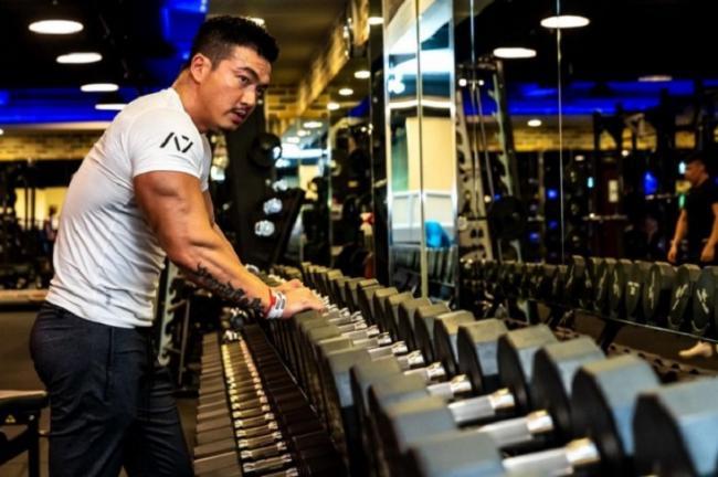 李沛旭轉型成為業餘健美選手