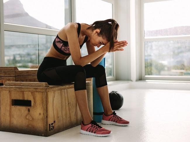 運動開始發懶