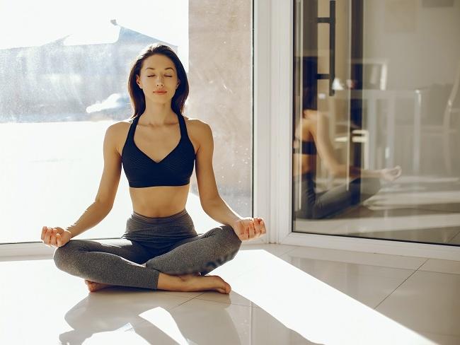 瑜珈能內心平靜