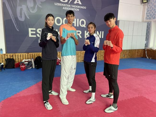 台灣跆拳道國手