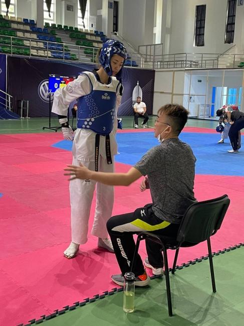 跆拳道國手羅嘉翎