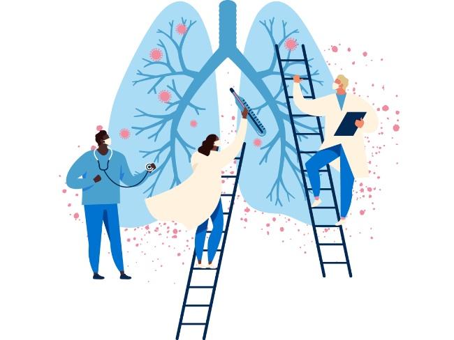 COVID-19影響肺部功能