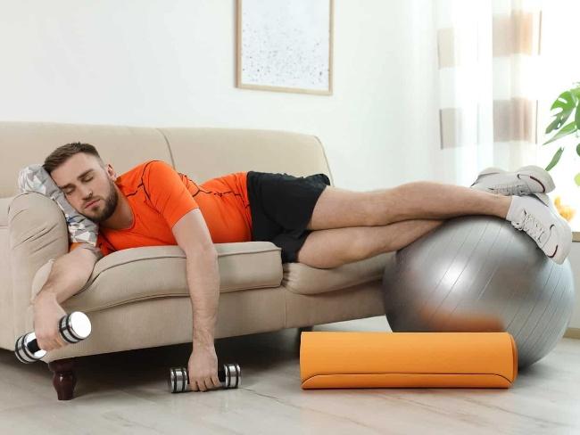 休息也是訓練的計劃之一