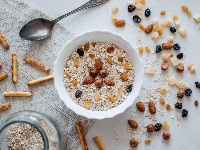 早餐吃麥片