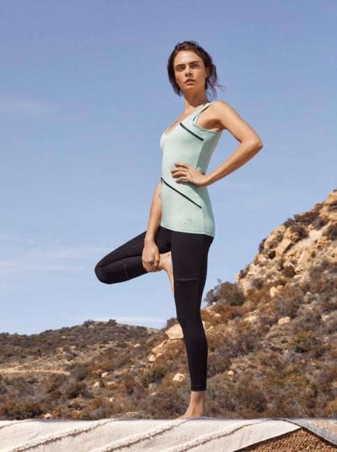 瑜珈系列Exhale合身運動背心、緊身褲