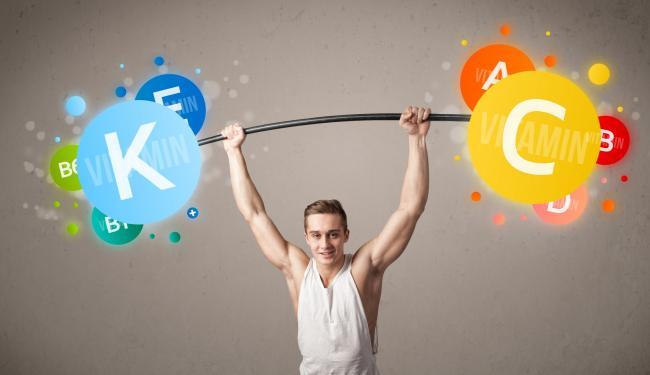 健身除了攝取蛋白質,很多礦物質、維生素跟肌肉的合成也有關