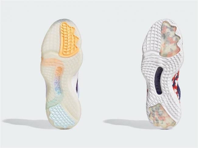 adidas D.O.N. Issue #3蜘蛛網紋路大底