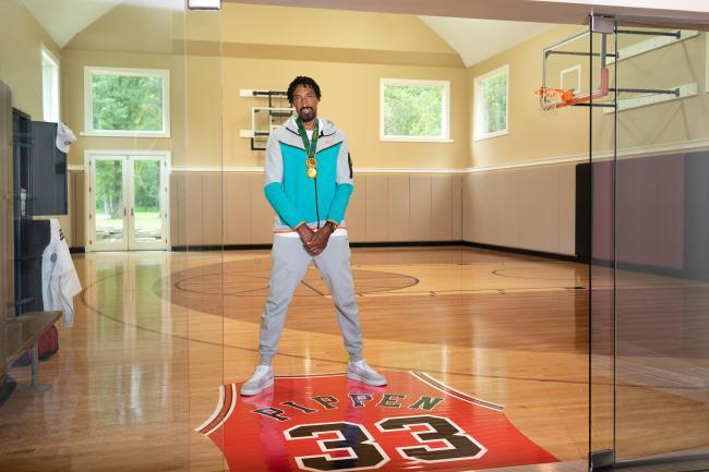 奧運期間開箱NBA傳奇球星Scottie Pippen家