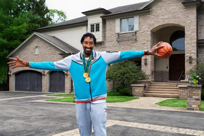 NBA 傳奇球星 Scottie Pippen 位於芝加哥的宅邸