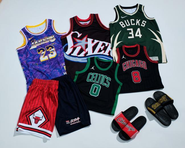 摩曼頓匯聚NBA籃球運動時尚