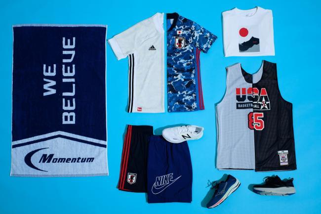 摩曼頓特蒐多款別具設計特色的應援運動服飾