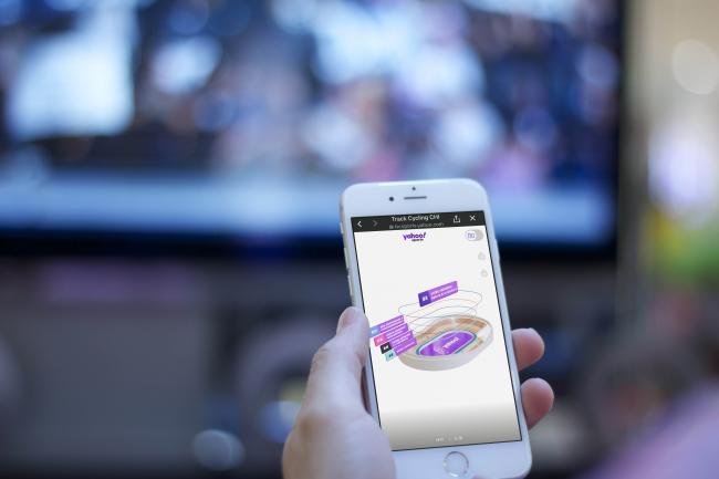 AR體驗室如同置身虛擬賽場   Yahoo奇摩運動用科技為台灣選手加油