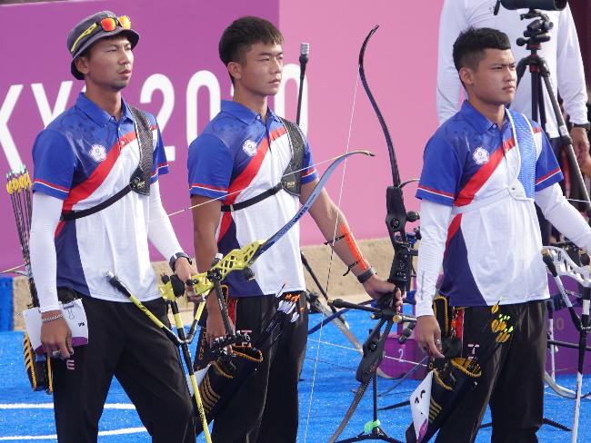 中華隊男子射箭團體