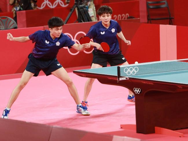 奧運桌球混雙奪得銅牌