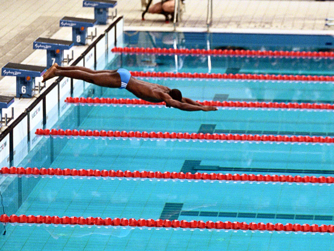 奧運自由式最慢紀錄保持人