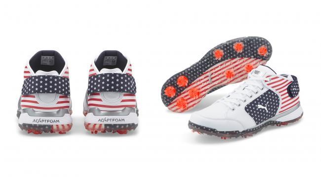 PUMA Golf PROADAPT Δ Mid 美國國旗配色特殊限量款