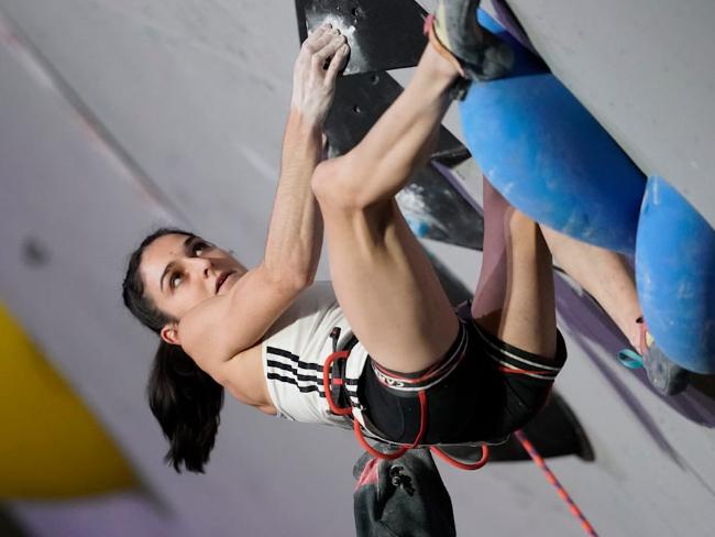 首次亮相的運動攀岩