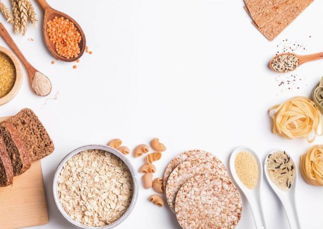 營養豐富的膳食纖維如全穀類
