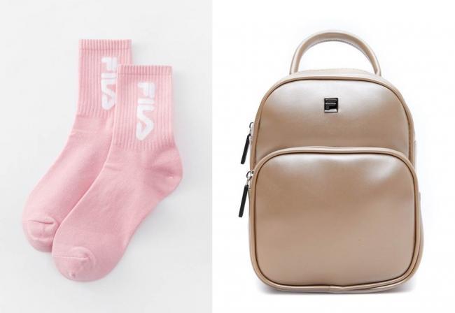 時尚襪款與輕奢包款