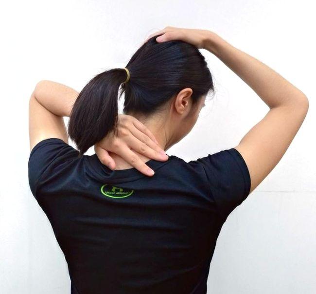 提肩胛肌的伸展運動
