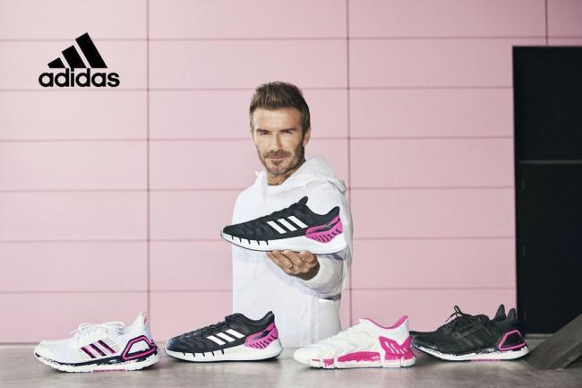 貝克漢也穿高調粉色!adidas攜手David Beckham聯名透氣跑鞋經典款
