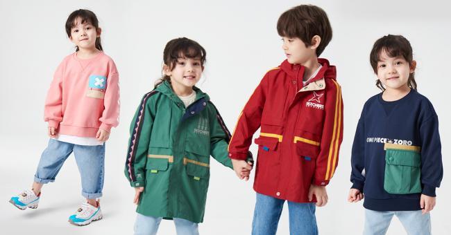 SKECHERS x ONE PIECE KID魯夫&索隆、喬巴限定款童鞋及服飾