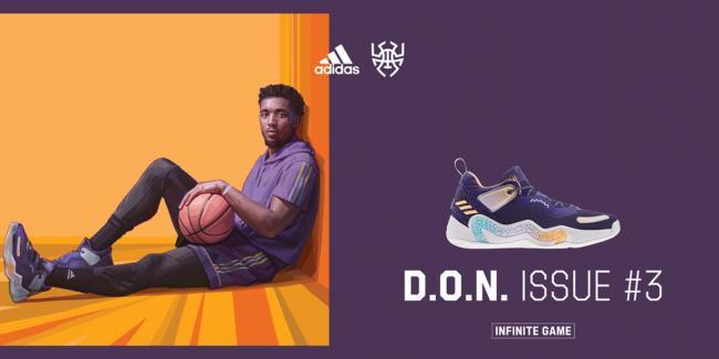 adidas D.O.N. Issue #3籃球鞋