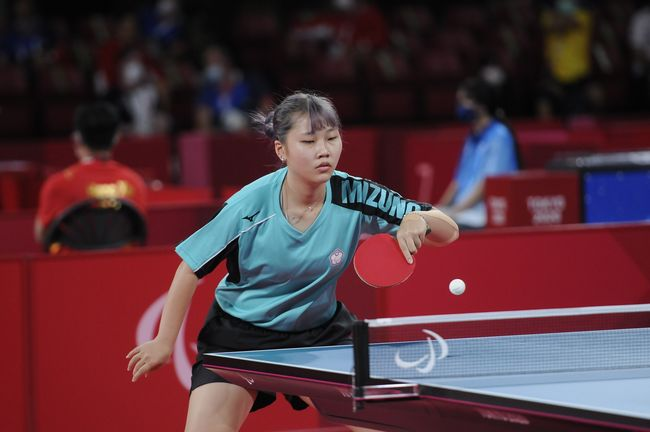 田曉雯出賽桌球 TT10 級女子單打資格賽