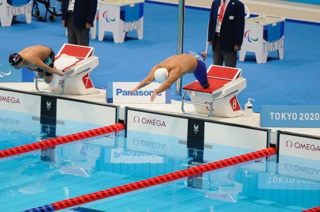 陳亮達出戰游泳男子S7級400公尺自由式以第8名作收
