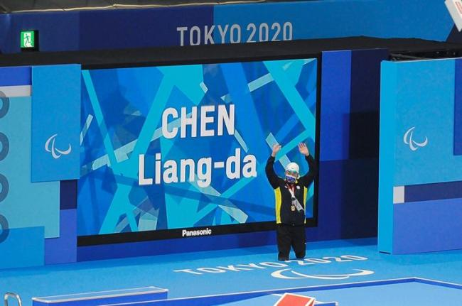 陳亮達獲個人今年最佳成績